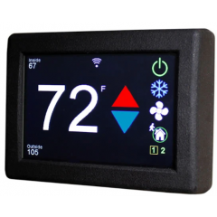 Micro-Air ASY-350-X01 EasyTouch RV 350 Black Thermostat