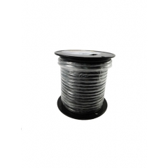 6 AWG Black Marine Battery Cable 100 Foot Roll | Cobra A2006T-07-100
