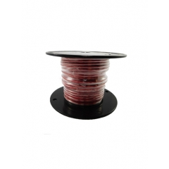 10 AWG Red Primary Marine Wire 100 Foot Roll | Cobra A2010T-01-100