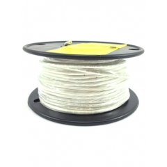 16 AWG White Primary Marine Wire 100 Foot Roll | Cobra A1016T-05-100