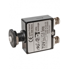 Push Button Reset Only Screw Terminal Circuit Breaker - 7 Amps