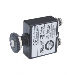 Push Button Reset Only Screw Terminal Circuit Breaker - 20 Amps