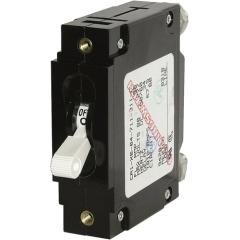 C-Series White Toggle Circuit Breaker - Single Pole 60 Amp