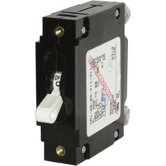 C-Series White Toggle Circuit Breaker - Single Pole 10 Amp