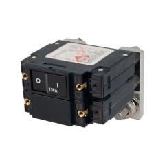 C-Series Flat Rocker Circuit Breaker - Double Pole 150A