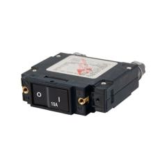 C-Series Flat Rocker Circuit Breaker - Single Pole 10A