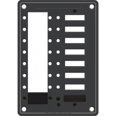 C Series 8 Position Circuit Breaker Mounting Panel