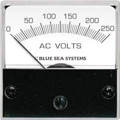 Blue Sea 8245 0-250 Volt AC Analog Micro Voltmeter