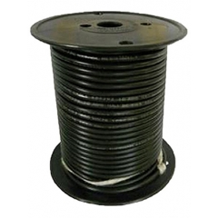 12 AWG Black Primary Wire 100 Foot Roll
