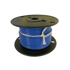 16 AWG Light Blue Primary Marine Wire 100 Foot Roll | Cobra A1016T-10-100