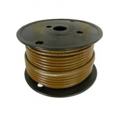 12 AWG Brown Primary Marine Wire 100 Foot Roll | Cobra A1012T-06-100
