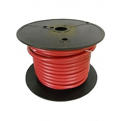 2 AWG Red Marine Battery Cable 100 Foot Roll | Cobra A2002T-01-100