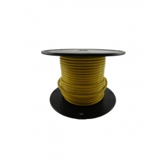 10 AWG Yellow Primary Marine Wire 100 Foot Roll   Cobra A2010T-04-100