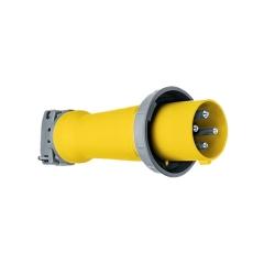 Hubbell M4100P12 Yellow Supertough Nylon 100 Amp Plug