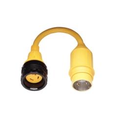 Pigtail Adapter 30 Amp Locking To 50 Amp Locking