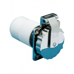 50 Amp 125/250 Volt Stainless Steel Power Inlet