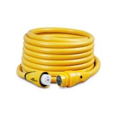50 ft. 50 Amp 125/250 Volt Yellow Eel Shore Cord