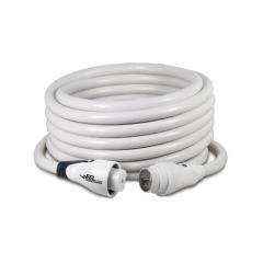 EEL 50 ft. 50a 125/250v White Shore Cord