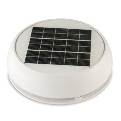 White 3 inch Day/Night Solar Vent   Marinco N20803W